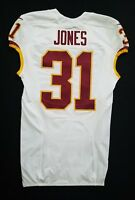 #31 Matt Jones of Washington Redskins NFL Game Issued Jersey