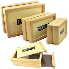 More details for buddies wooden sifter box sift stash box pollen collector pollinator magnetic