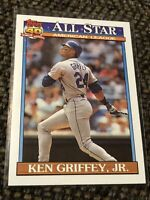 Ken Griffey Jr. #392 91 Topps ALL STAR 40 Years of Baseball Seattle Mariners MNT