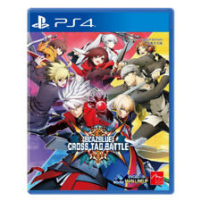 BlazBlue Cross Tag Battle PlayStation PS4 2018 Chinese English Japanese