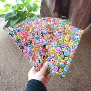 Cute Diary Decor Kids Stickers 3D PVC Korea Stationery Kindergarten Gift Toy^BI