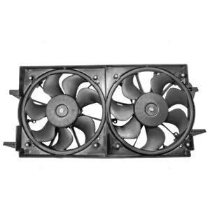 Dual Cooling Engine Fan Assembly for Malibu & Classic Alero Cutlass Grand Am