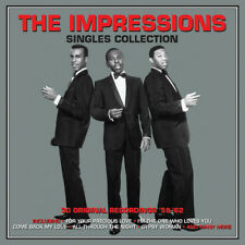 The Impressions Singles Collection 58-62 2-CD NEW SEALED For Your Precious Love+