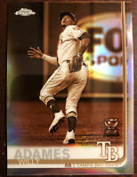 Willy Adames 2019 Topps Chrome Sepia Refractor #179 Tampa Bay Rays Hot!