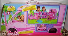 X8410 Deluxe Pferde & Wohnmobil Barbie und ihre Schwestern im Pferdeglück Camper