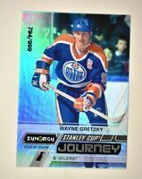 2020-21 UD Synergy Stanley Cup Journey Regular Season #CJ-WG Wayne Gretzky /999