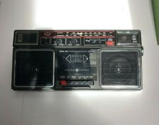 Vintage Portable GE General Electric 3-5452B Boombox AM FM Cassette Stereo Radio