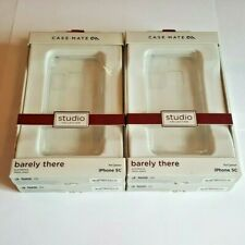 LOT of 4 Case Mate Studio Collection Slim Impact Case for iPhone 5c