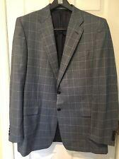 Hickey Freeman Men's Sportcoat Jacket Blazer 2 Button 44L EUC