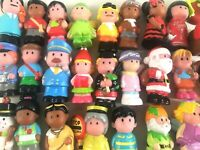 ELC Happyland Figures Early Learning Centre Jester Pilot Cow Fireman etc.