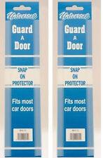 """Clear Car  Door Edge Protector Strip 4 x 12"""" Doorguard Door Protector  2 pairs"""