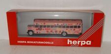 Herpa 141376 US Busmodell MAKE LOVE NOT WAR PEACE AND LOVE 1:87 OVP (R2_5_37)