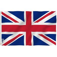 ANLEY United Kingdom UK Flag Fly Breeze 3x5 Ft Vivid Color and UV Fade Resistant
