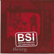 BACKSTABBERS INCORPORATED Theory/history US EP ELEMENT RECORDS 2002