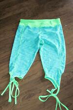 Queenie Ke  Yoga Running Pants Workout Legging wrap around leg sz L