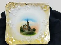 PERRY IA Catholic Church Plate Wheelock Dresden Germany F. D. Richardson 5 inch