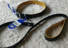 Ancol Large Brown Dog Leather Collar Lead Set collar size 8. 26 inch collar