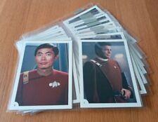 STAR TREK THE WRATH OF KHAN MOVIE LARGE PHOTO TRADING CARDS 1-30 PARAMOUNT 1982.