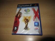 PS2 2006 COUPE DU MONDE FIFA , GB PAL , neuf & Sony scellé en Usine