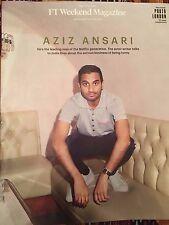 UK FT Weekend Magazine May 2017 Master Of None Aziz Ansari Interview Ryan Giggs