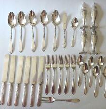 Vtg STRATFORD HARMONY HOUSE Personality Flatware LOT Knife Spoon Fork Shaker