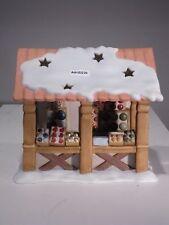 +# A006530 Goebel Archiv Muster Limpke Nina & Marco, Teelichtständer Hütte