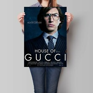 House of Gucci Movie Poster Adam Driver A2 A3