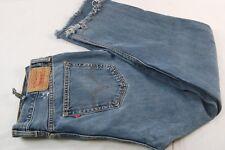 Levi's 505 Men's 40 x 30 (TAG AS 38x36) Straight Denim Jeans - Cut offs #V543