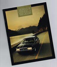 1993 JAGUAR OWNER beneficios (XJ SERIE) Catálogo/CATALOG: XJ6, Vanden Plas, 6