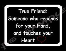 TRUE FRIEND - Flexible Fridge Magnet