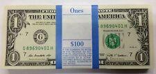 10 billets USA 1 dollar année 2013 consécutifs