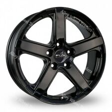 "Alloy Wheels 16"" Viper 1 For Ford Transit Custom Sport Van Crew Cab 5X160 Black"