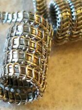 Spaced Alien Framed Staple Clapton Coil, 1 Pair - RDA RTA RDTA RBA 316LSS N80