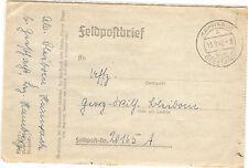 *Feldpost II. WK - 1942 * von Hamwarde (28)