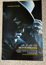 "NOTORIOUS - Notorious BIG Movie Promo Poster - Biggie Smalls 13.5"" X 20"""