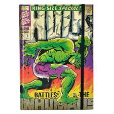 Der Hulk A5 Hardcover Notizbuch Marvel Comics Notizbuch Avengers Offiziell