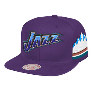 Mitchell & Ness Purple NBA Utah Jazz Short Hook HWC Snapback