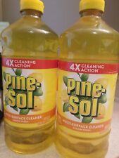 Pine-Sol All Purpose Multi-Surface Lemon Fresh Cleaner 2 bottles 120oz