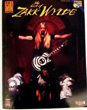 ZAK WYLDE TAB BLACK LABEL SOCIETY TAB WITH CD!! GUITAR TABLATURE GUITAR TAB