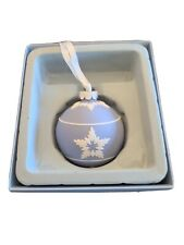 Blue Jasperware Wedgewood Star Christmas Ornament
