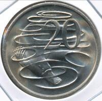 Australia, 1972 Twenty Cents, 20c, Elizabeth II - Choice Uncirculated