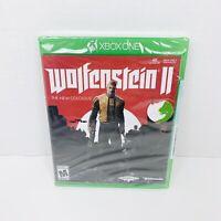 Wolfenstein 2 II: The New Colossus (Microsoft Xbox One, 2017, Bethesda) New