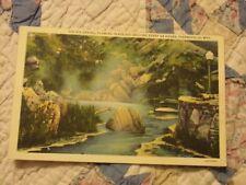 Vintage Postcard The Big Springs, Thermopolis, Wyo.