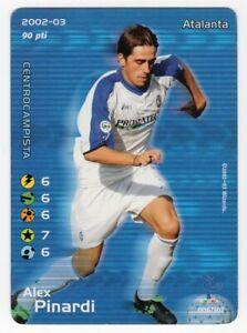 FOOTBALL CHAMPIONS 2002 2003 - ALEX PINARDI - ATALANTA