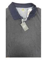 Club Room Navy Blue Short Sleeve 100% Cotton Polo Shirt 3XB Big & Tall Big 3X