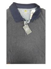 Club Room Navy Blue Short Sleeve 100% Cotton Polo Shirt LT Big & Tall