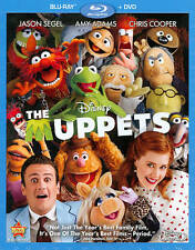 The Muppets Blu-ray 2012 Disc Walt Disney Movie Jason Segel Kermit The Frog Amy