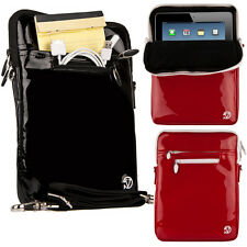 """Tablet Patent Leather Sleeve Pouch Shoulder Bag For 10.5"""" Samsung Galaxy Tab S6"""