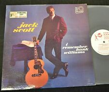 Jack Scott Top Rank PROMO 319 I Remember Hank Williams