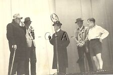 WWII German RP- Luftwaffe Comic Play- Theater- Microphone- Cane- Umbrella- 1940